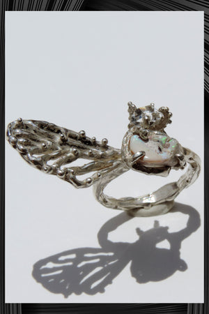 Cicada Wing Ring | Free Delivery - 2-3 Weeks Shipping