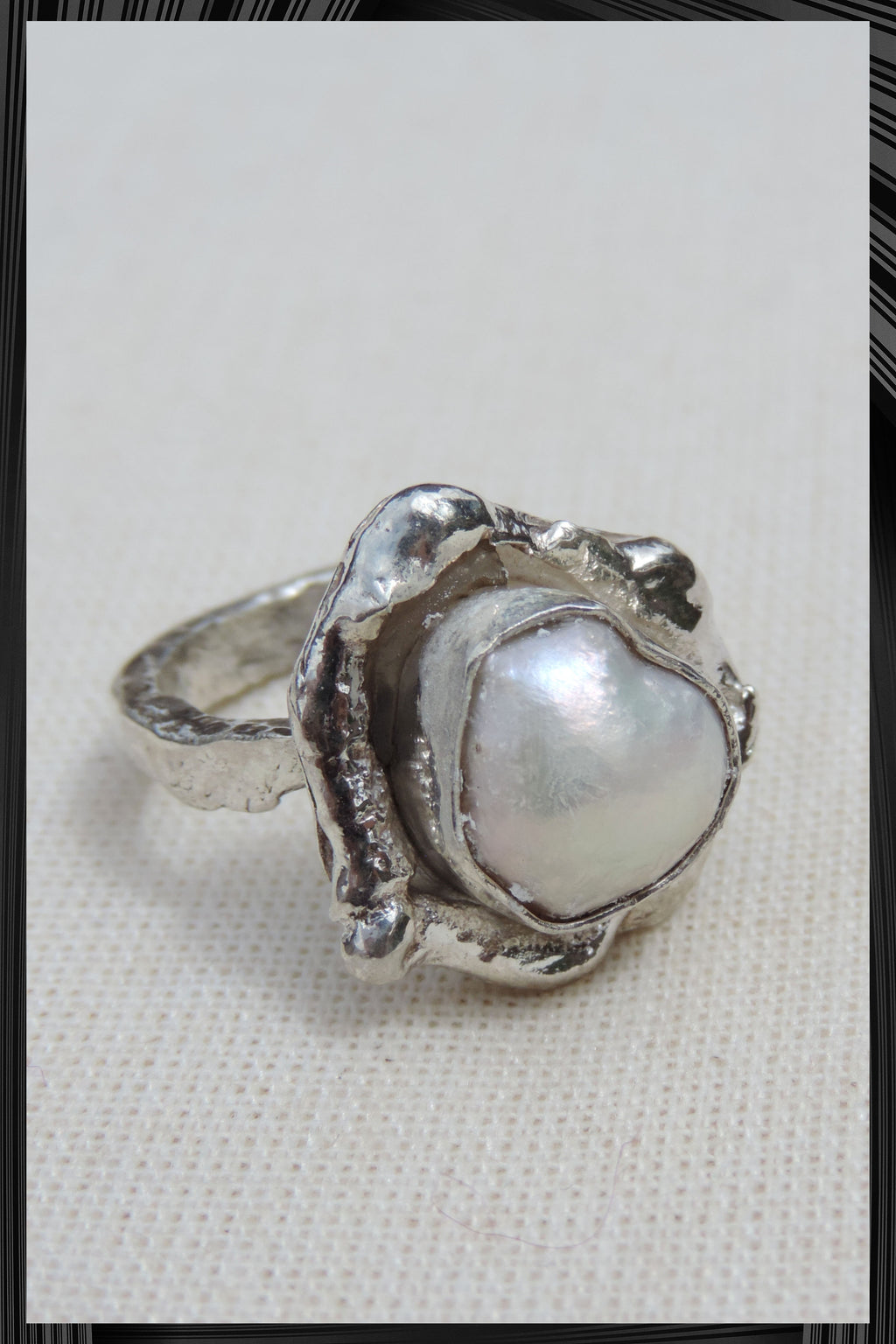 The Pearl Ring | Free Delivery - 2-3 Weeks Shipping