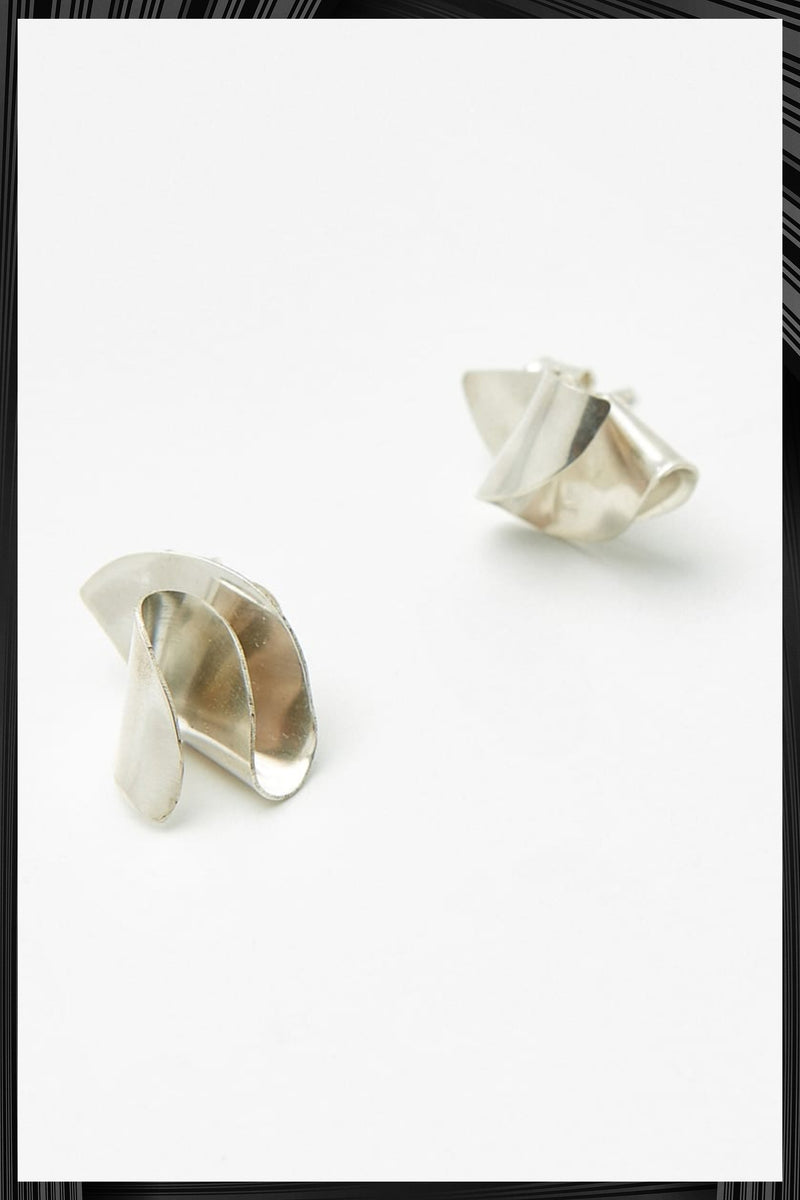 Silver Blanco Mini Earrings | Free Delivery - Quick Shipping