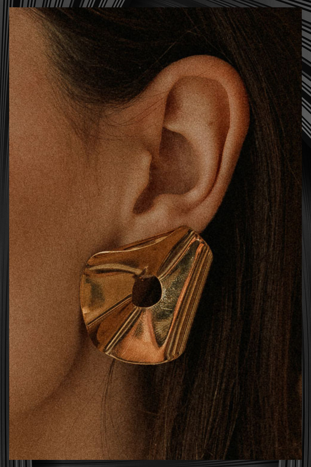 Schiap Gold Midi Earrings