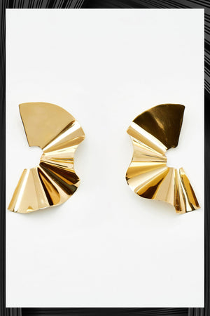 Tra Tra Maxi Gold Earrings