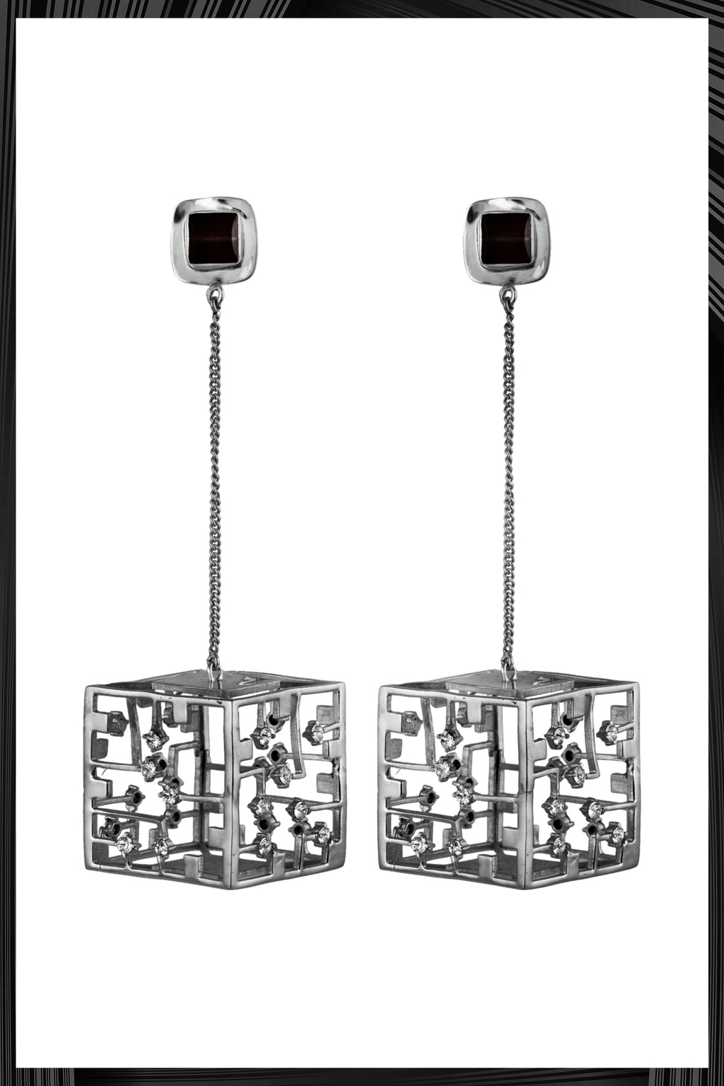 Cube Earrings | Free Delivery - Quick Shipping