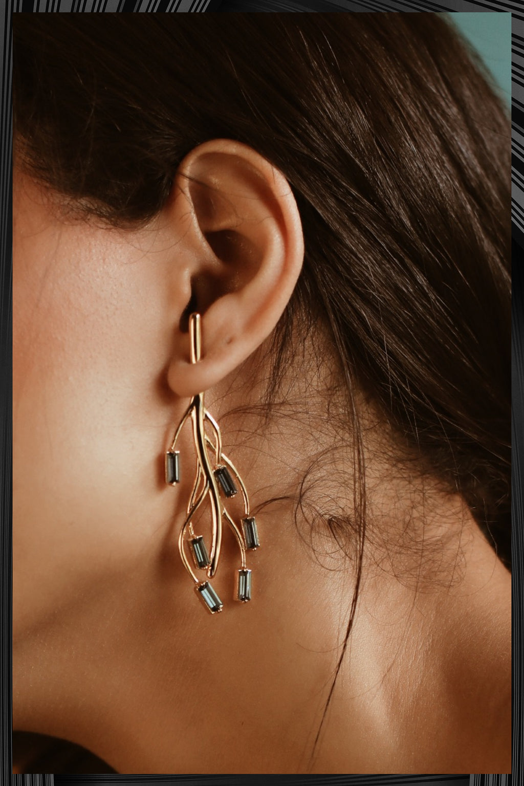 Smoky Ciara Earrings