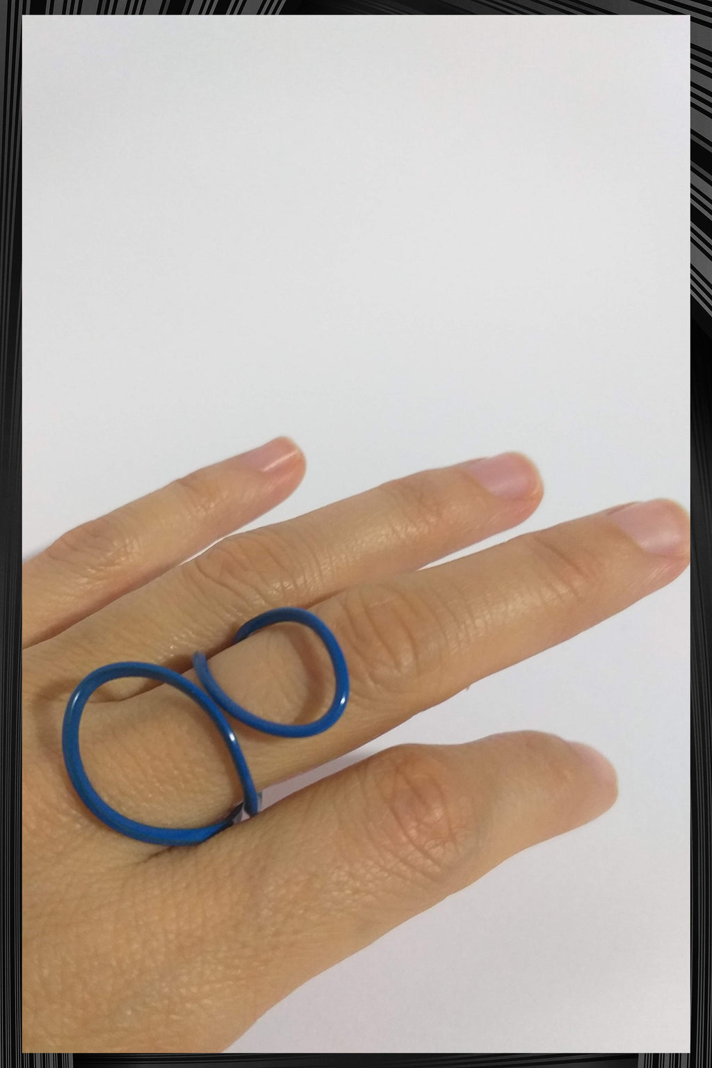 Blue Simple Ring