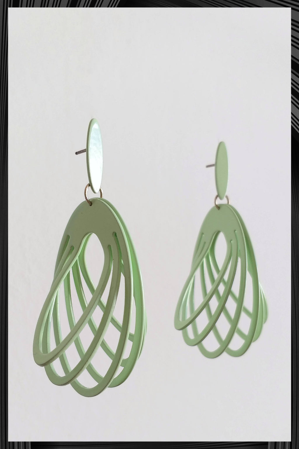 Minty Wing Earrings | Free Delivery - Quick Shipping