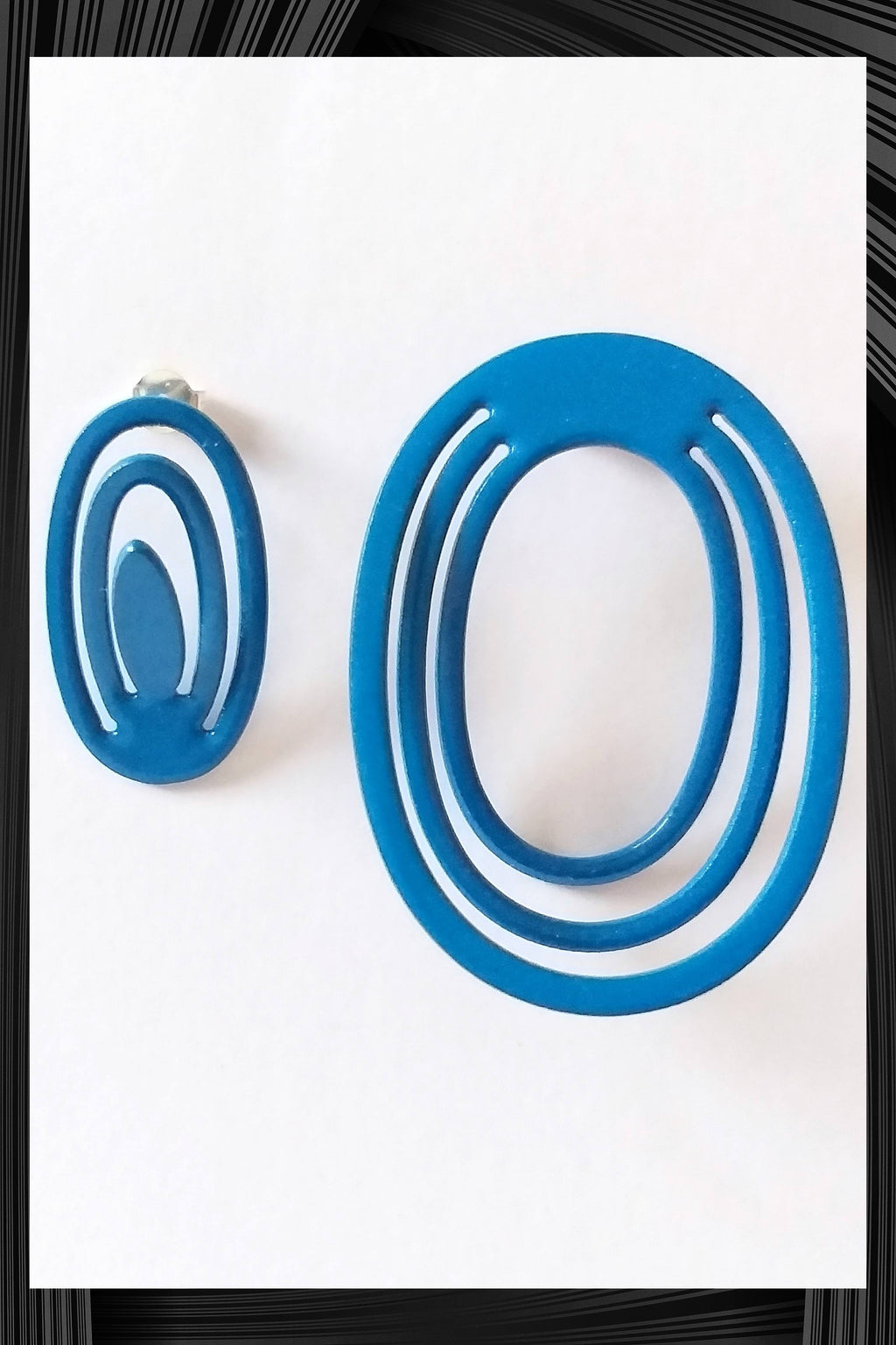 Blue Complementary Earrings | Free Delivery - Quick Shipping