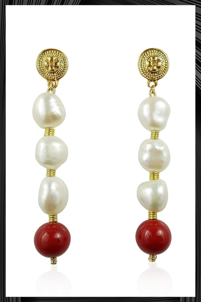 Las Meninas Gold Earrings