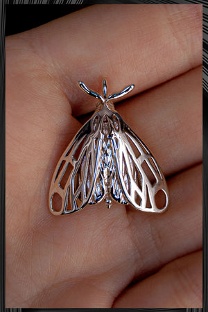 Tiger Moth Pendant | Free Delivery - 2-3 Weeks Shipping