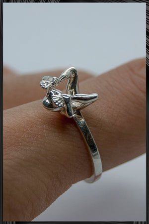 Yoga Frog Cobra Pose Ring 2 | Free Delivery - 2-3 Weeks Shipping