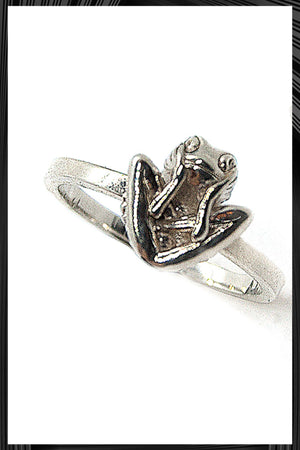 Yoga Frog Ring | Free Delivery - 2-3 Weeks Shipping