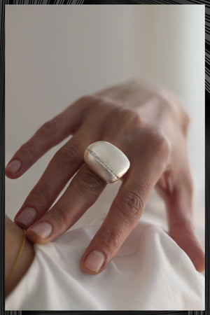 Irregular Dome Ring | Free Delivery - Quick Shipping