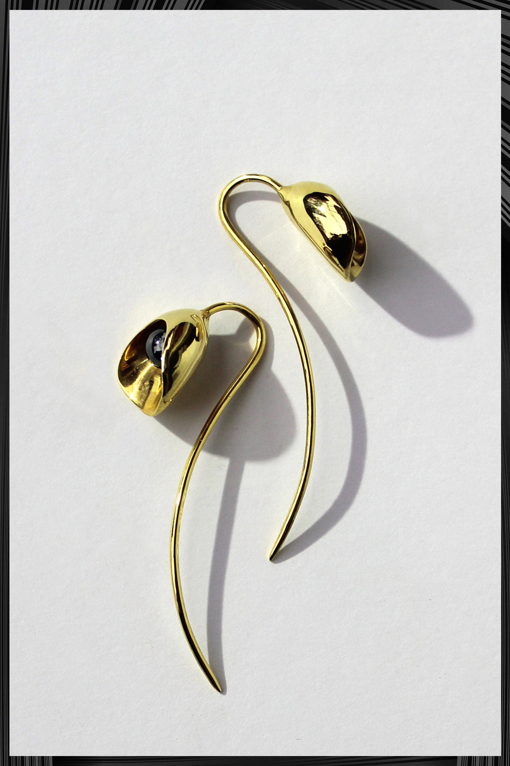Calla Lily Earrings | Free Delivery - Quick Shipping