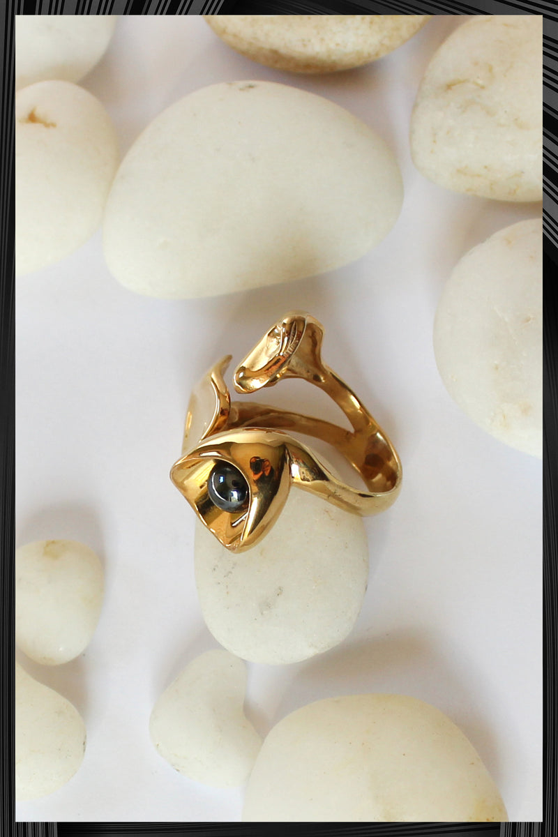 Calla Lily Ring | Free Delivery - Quick Shipping