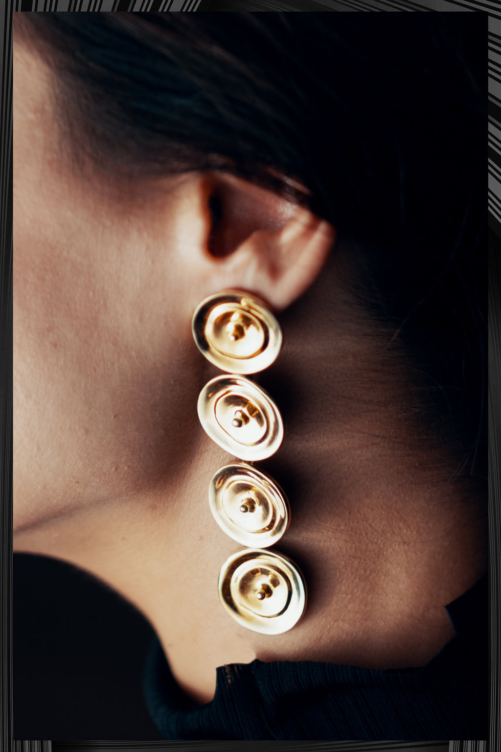 Ripples Drop Earrings | Free Delivery - 2-3 Weeks Shipping