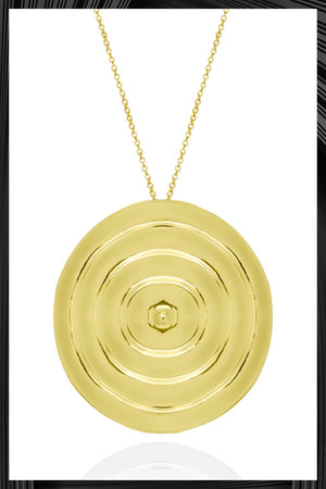 Ripples Pendant Necklace