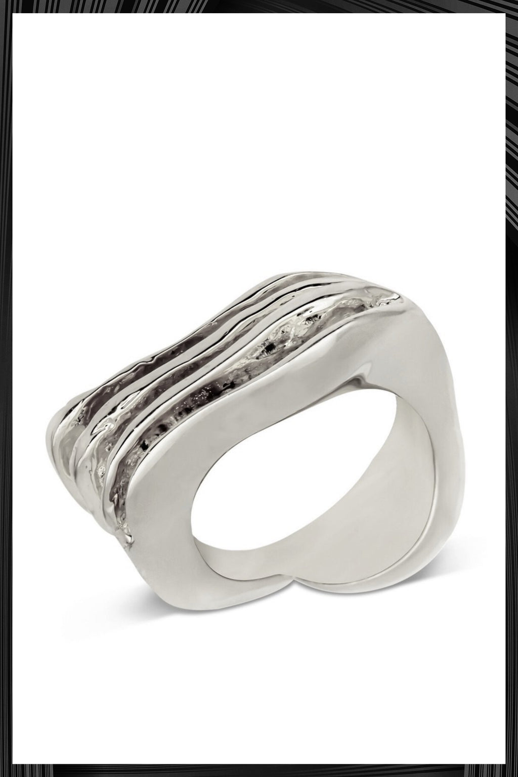 Wave Break Small Ring | Free Delivery - 2-3 Weeks Shipping