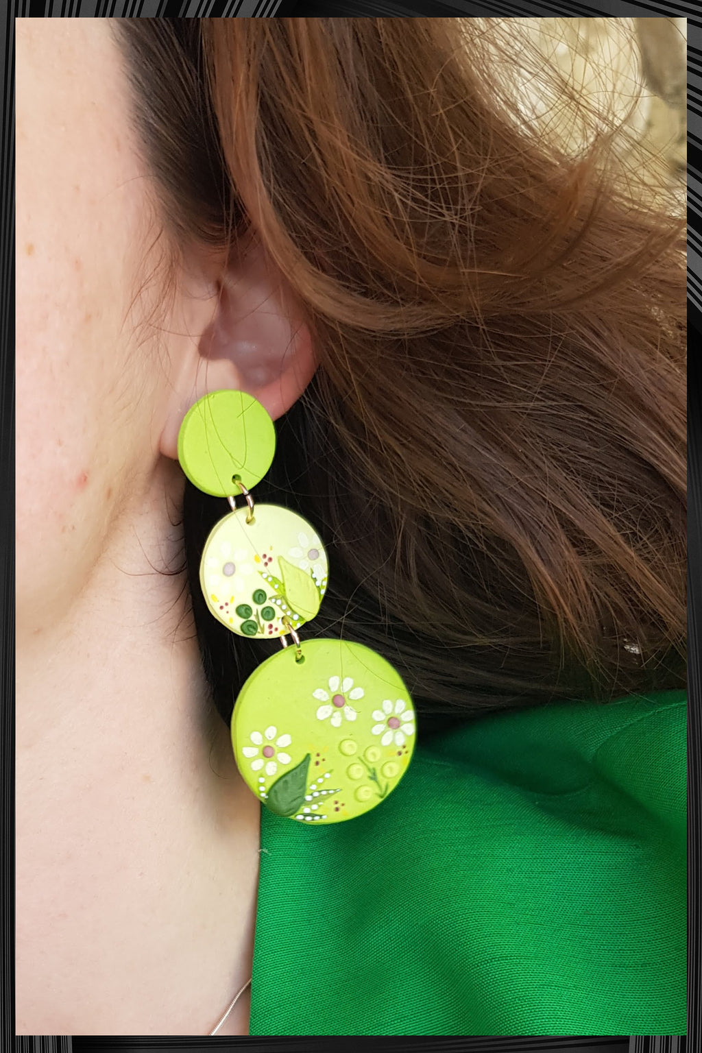 Wild Grass Cascade Earrings | Free Delivery - Quick Shipping