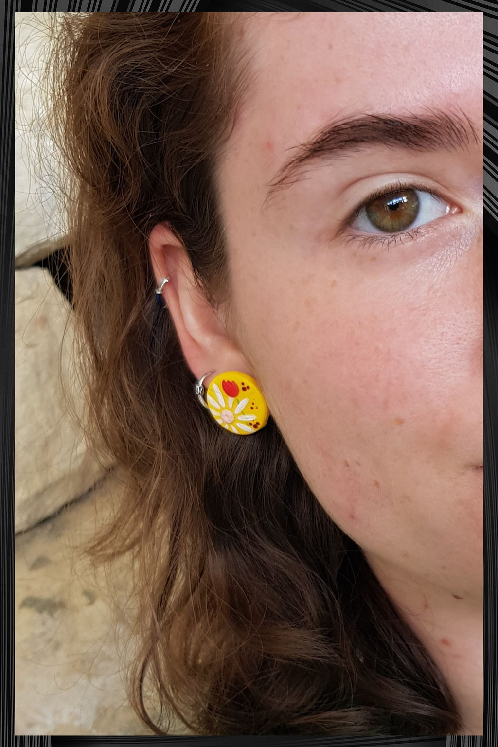 Bright Yellow Mini Studs | Quick Shipping