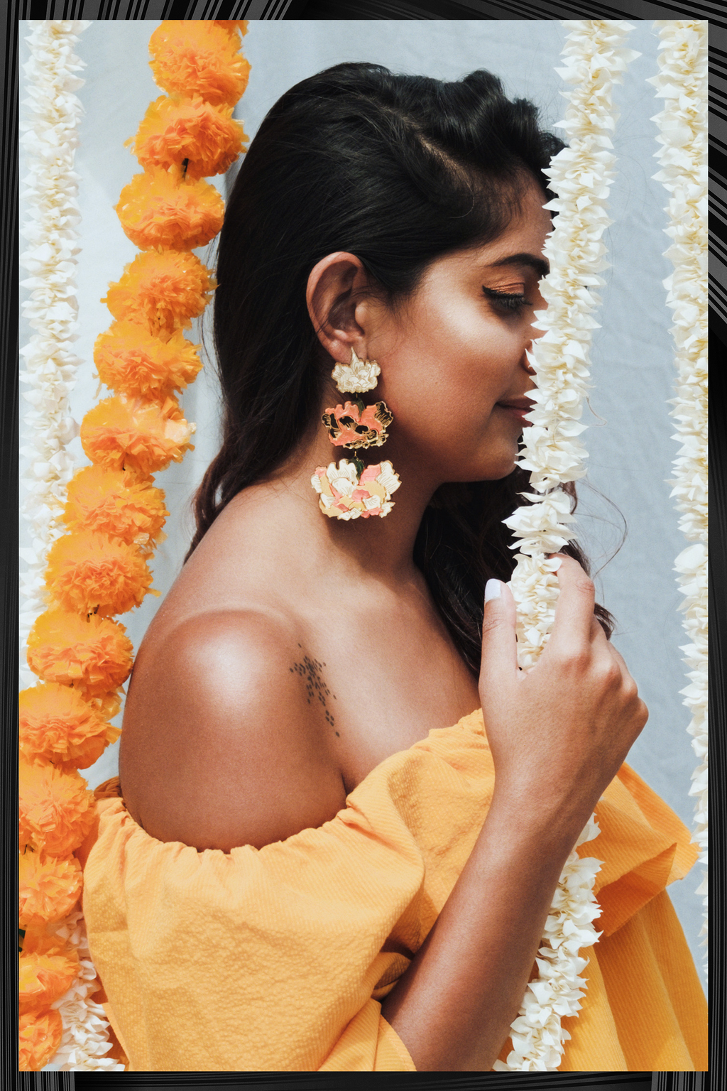 Layered Marigolds  | Free Delivery - Quick Shipping