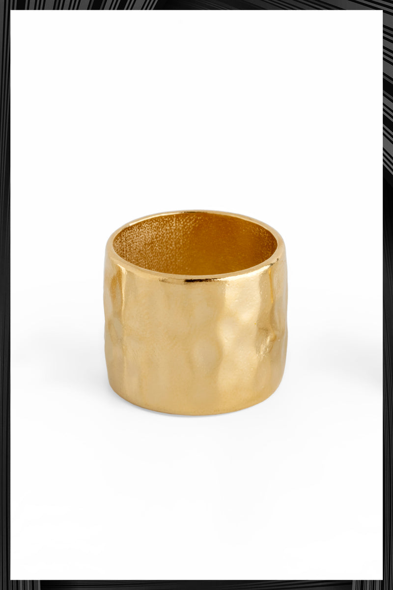 Gold Basic Ring | Free Delivery - Quick Shipping