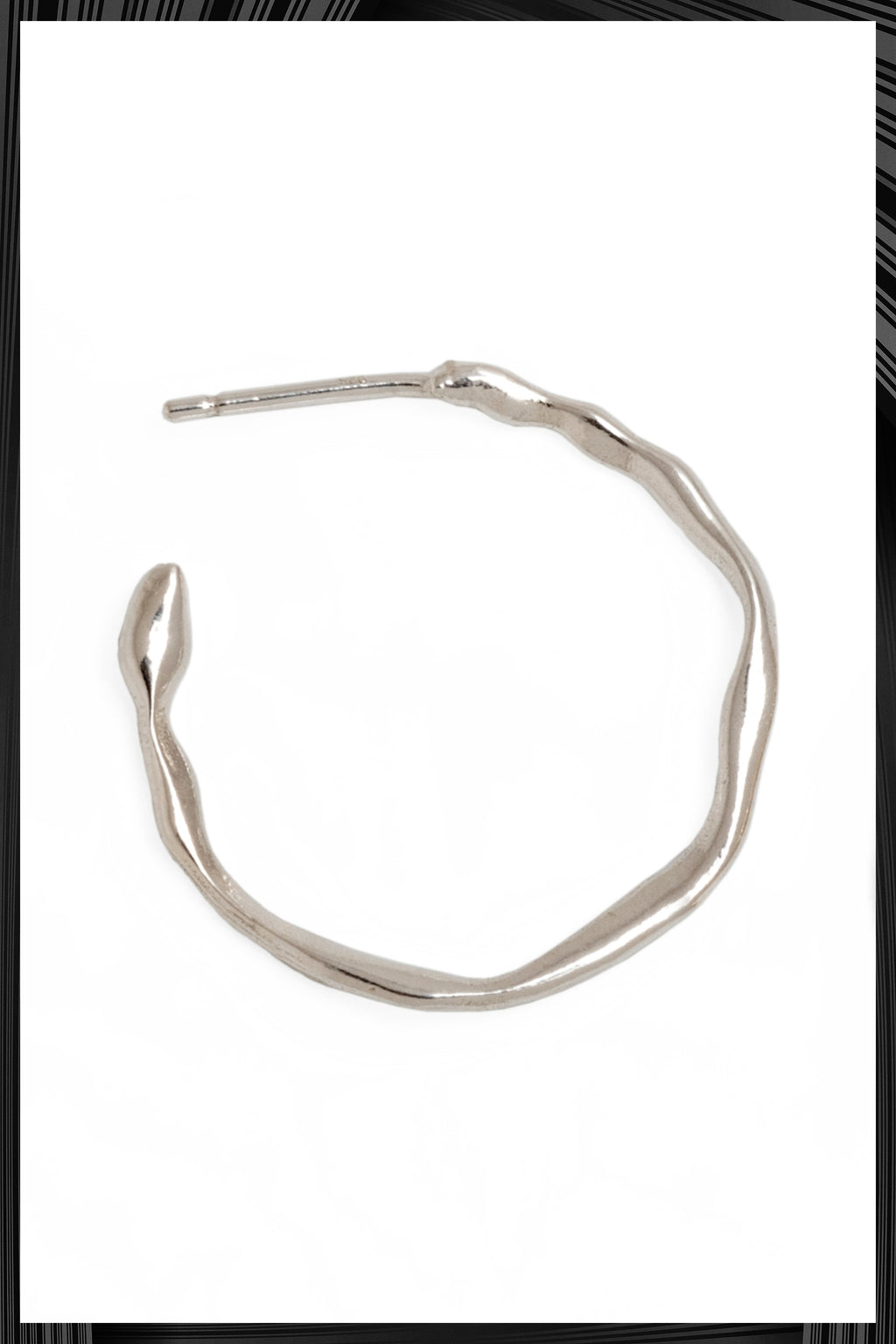 Small Silver Hoops | Free Delivery - Quick Shipping