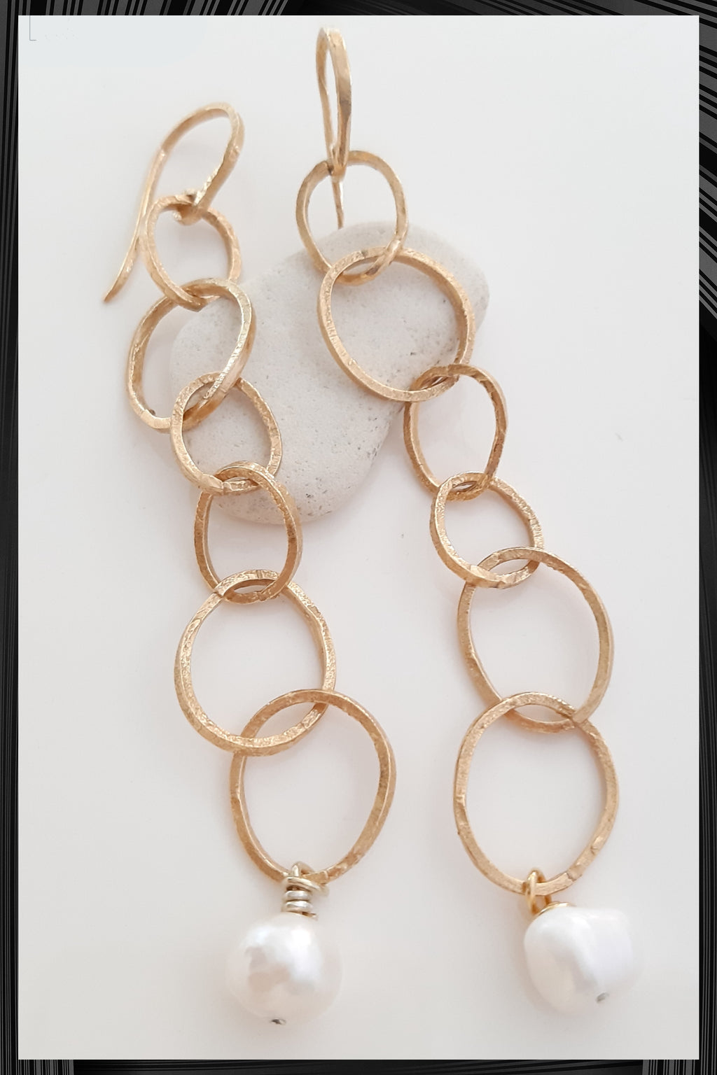 Dunes Chain Earrings | Free Delivery - Quick Shipping