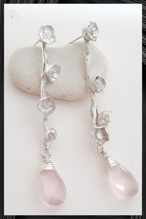 Frailejon Quartz Earrings | Free Delivery - Quick Shipping