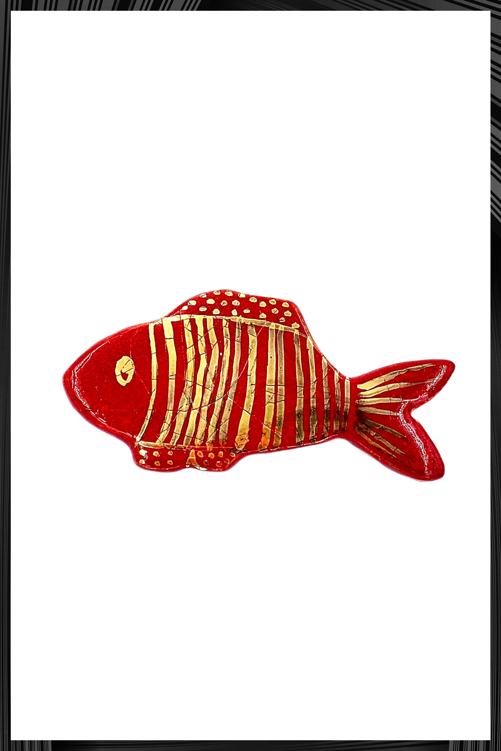Red Snapper Fish Pin