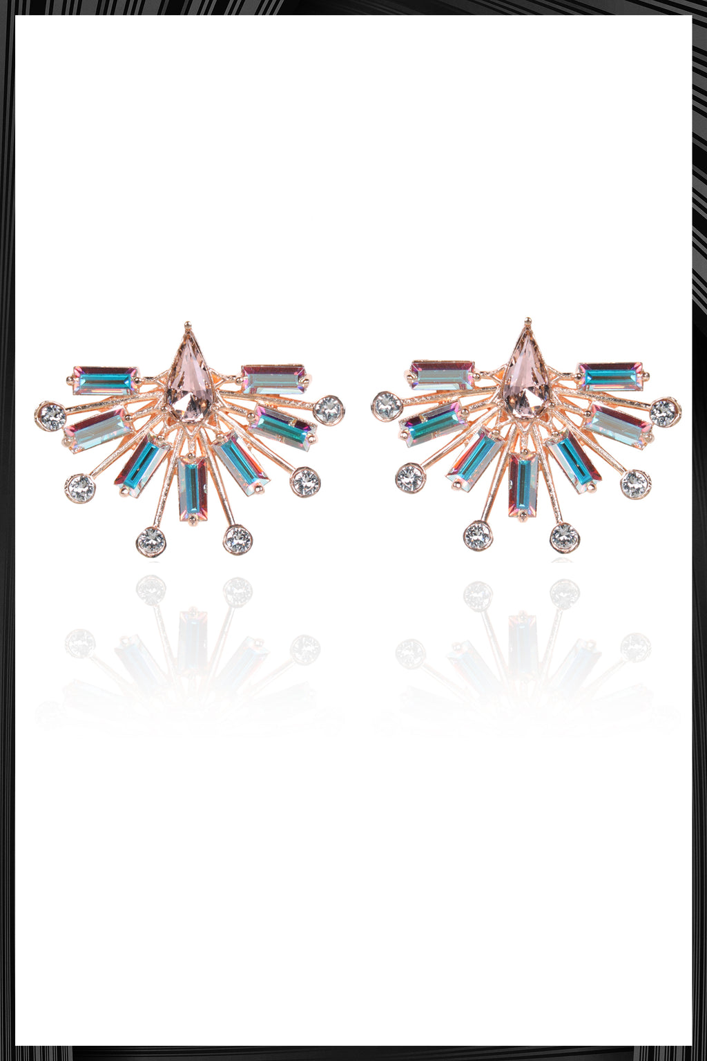 Crystal Bolero Earrings | Free Delivery - Quick Shipping