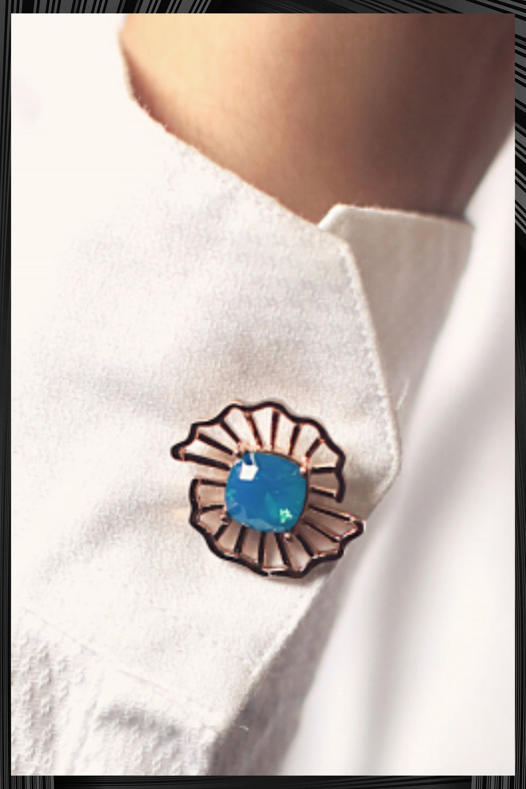 Blue Swing Cufflink | Free Delivery - Quick Shipping