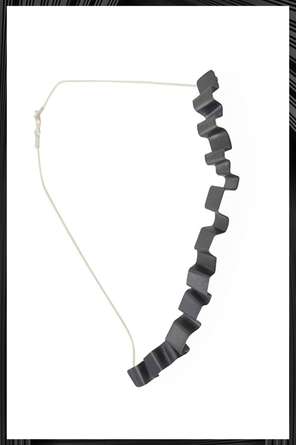 Oxidized Tagliatella Necklace