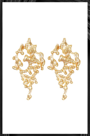 Gold Confusa Earrings