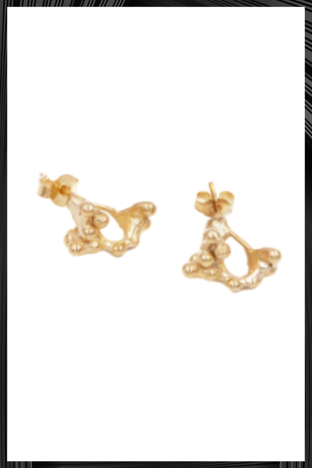 Gold Rubella Earrings