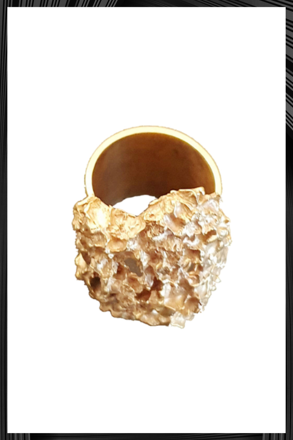 Gold Millefolium Ring