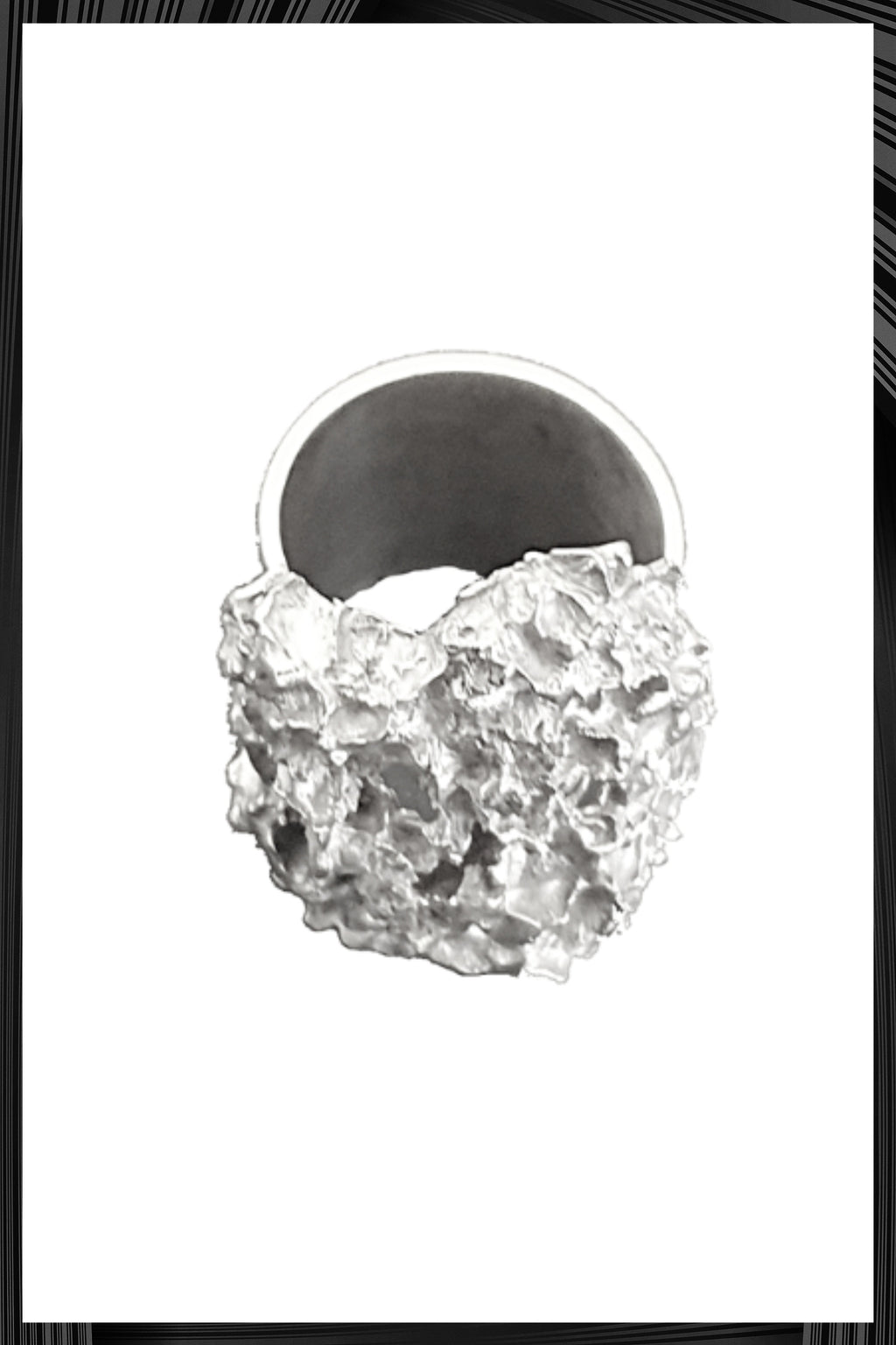 Silver Millefolium Ring | Free Delivery - Quick Shipping