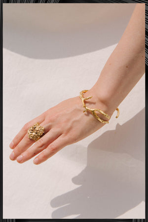 Gold Millefolium Ring | Free Delivery - Quick Shipping