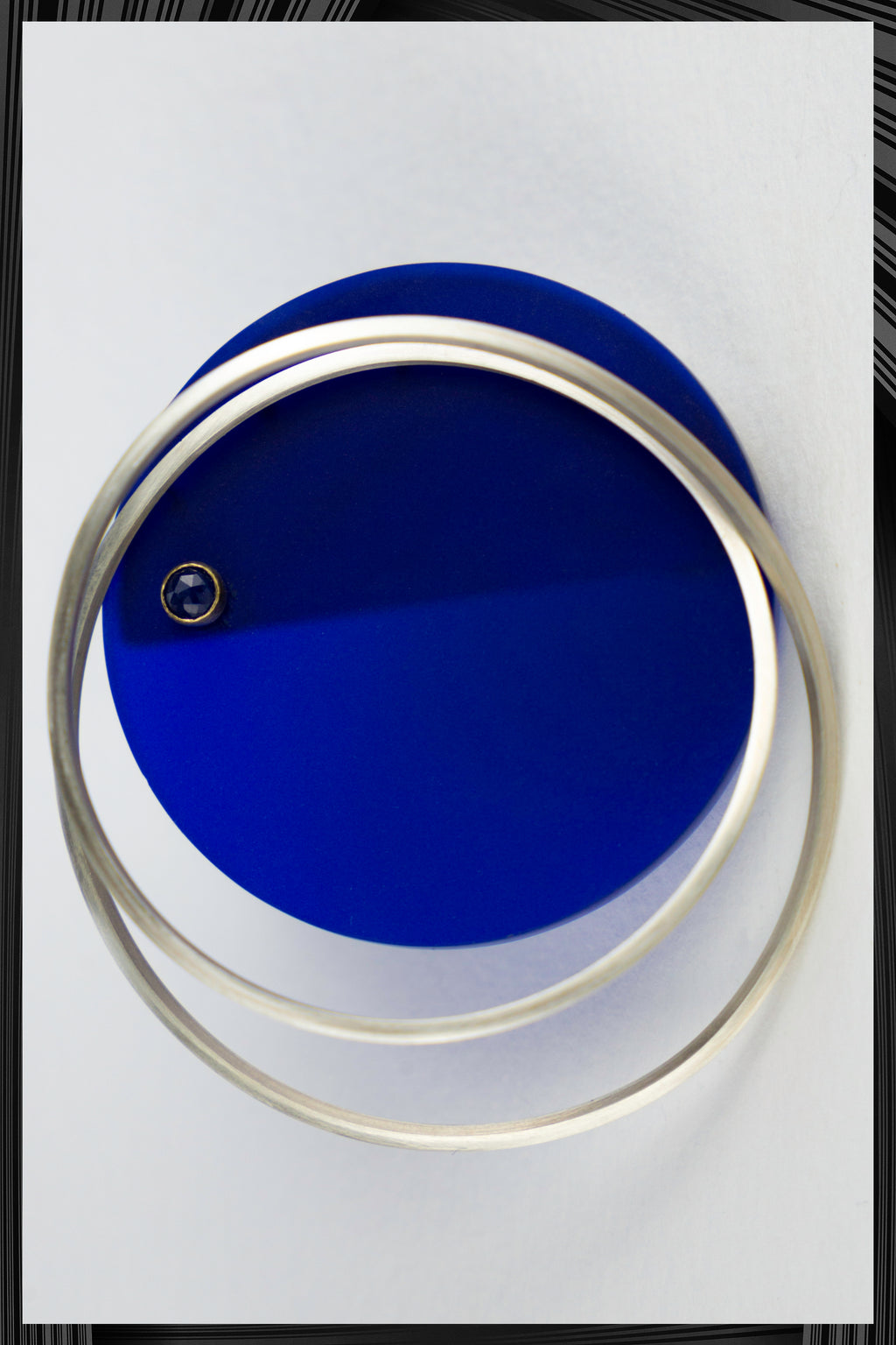 Perspex Orbit Brooch | Free Delivery - 2-3 Weeks Shipping