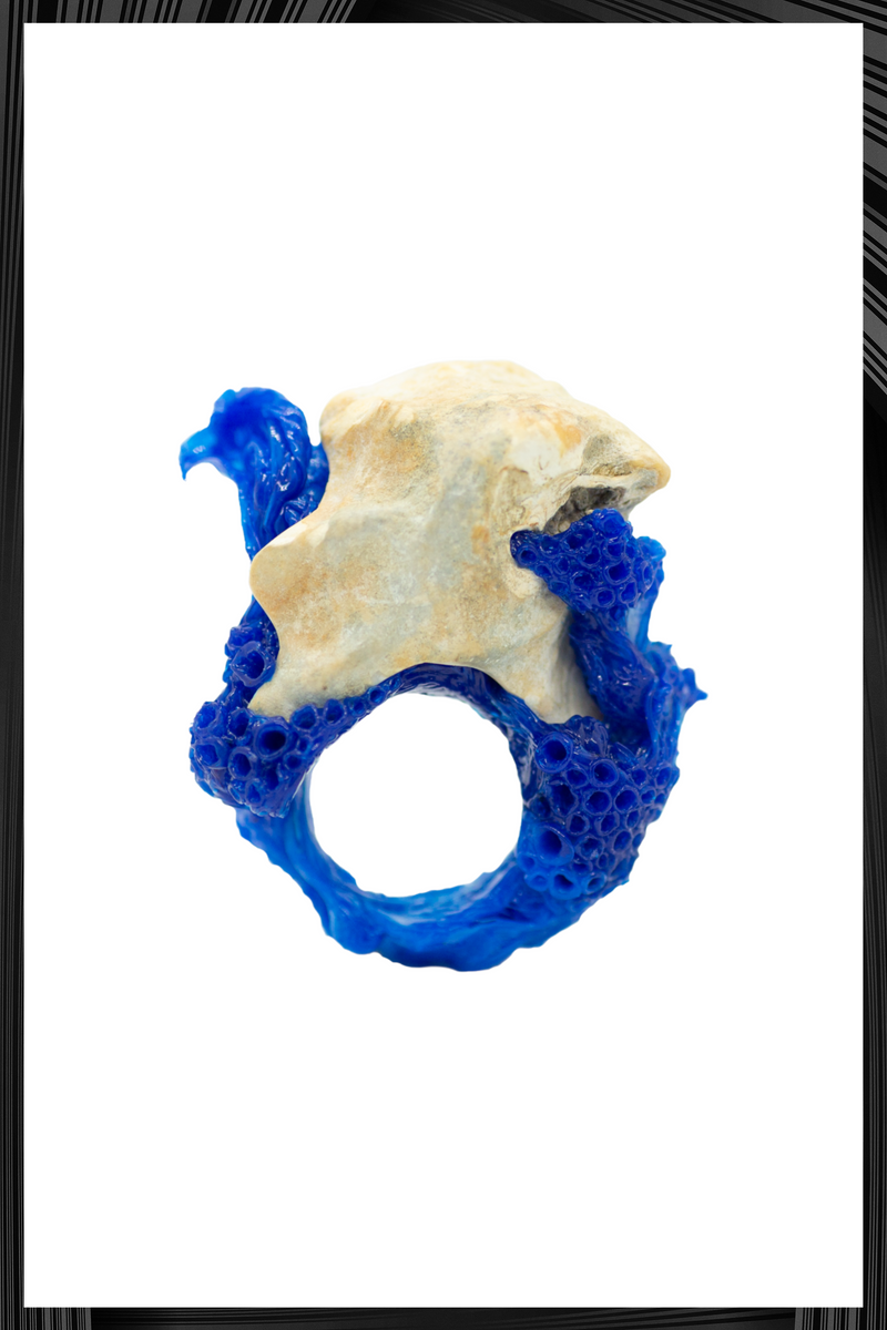 Blue Bag Shell Ring | Free Delivery - Quick Shipping