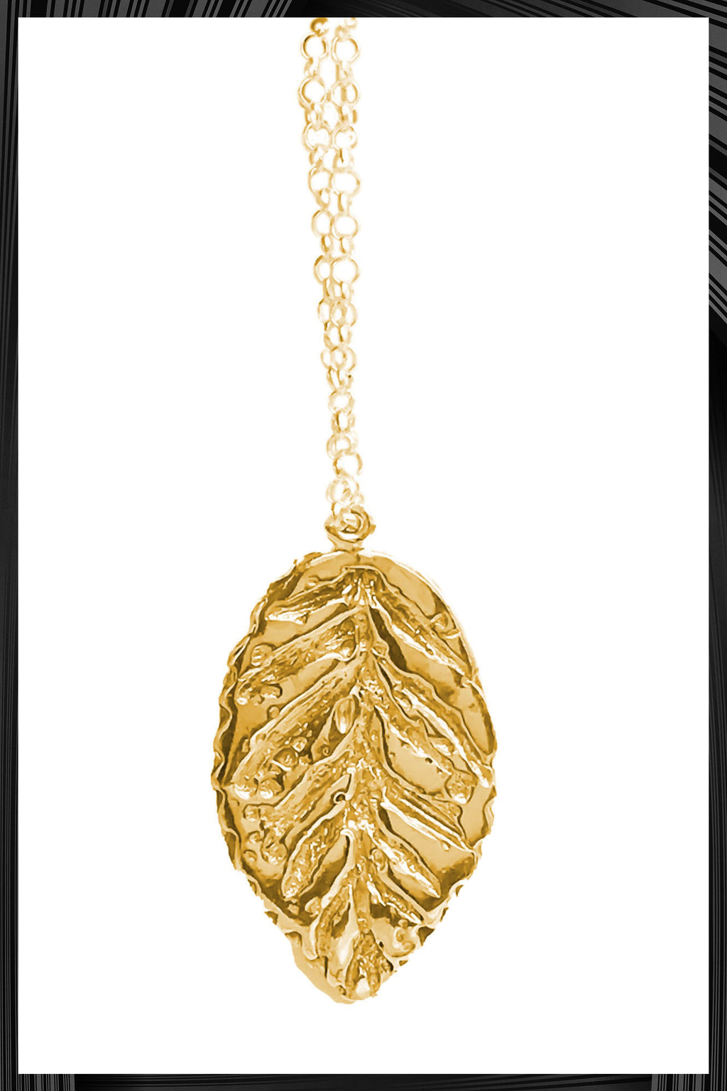 Gold Mocna Necklace