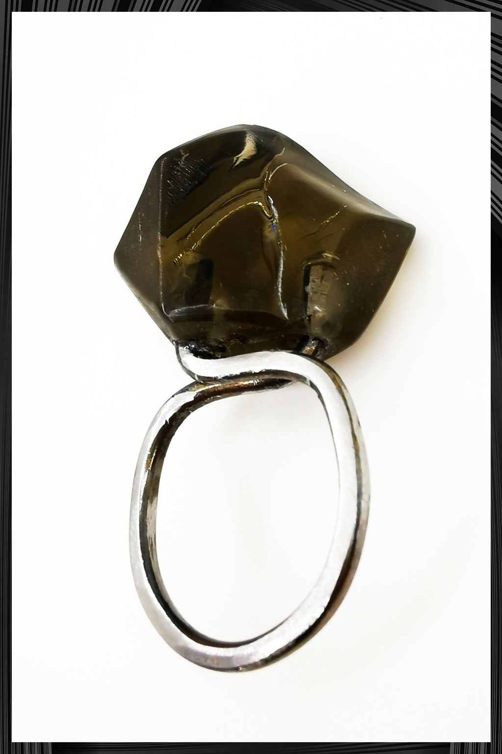 Black Lollipop Ring 1 | Free Delivery - Quick Shipping