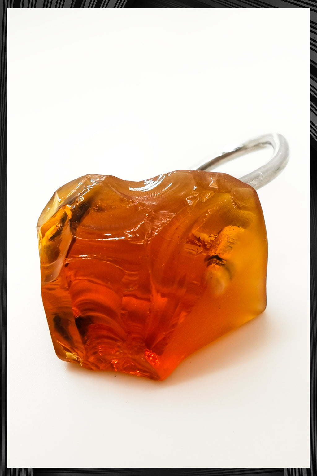 Amber Lollipop Ring 3 | Free Delivery - Quick Shipping