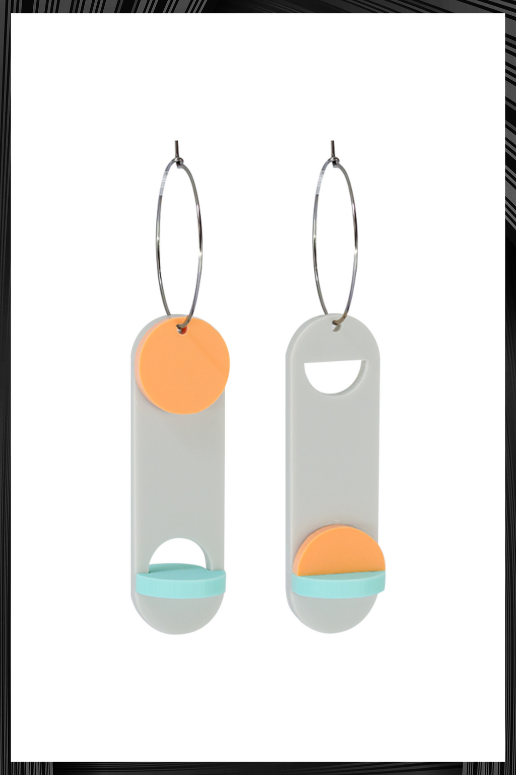 Moholy Nagy Earrings | Quick Shipping