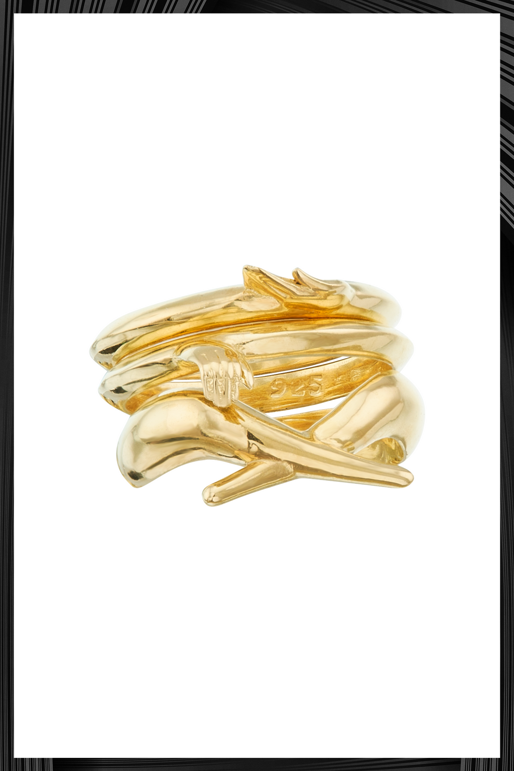 Gold Meditation Ring | Free Delivery - Quick Shipping