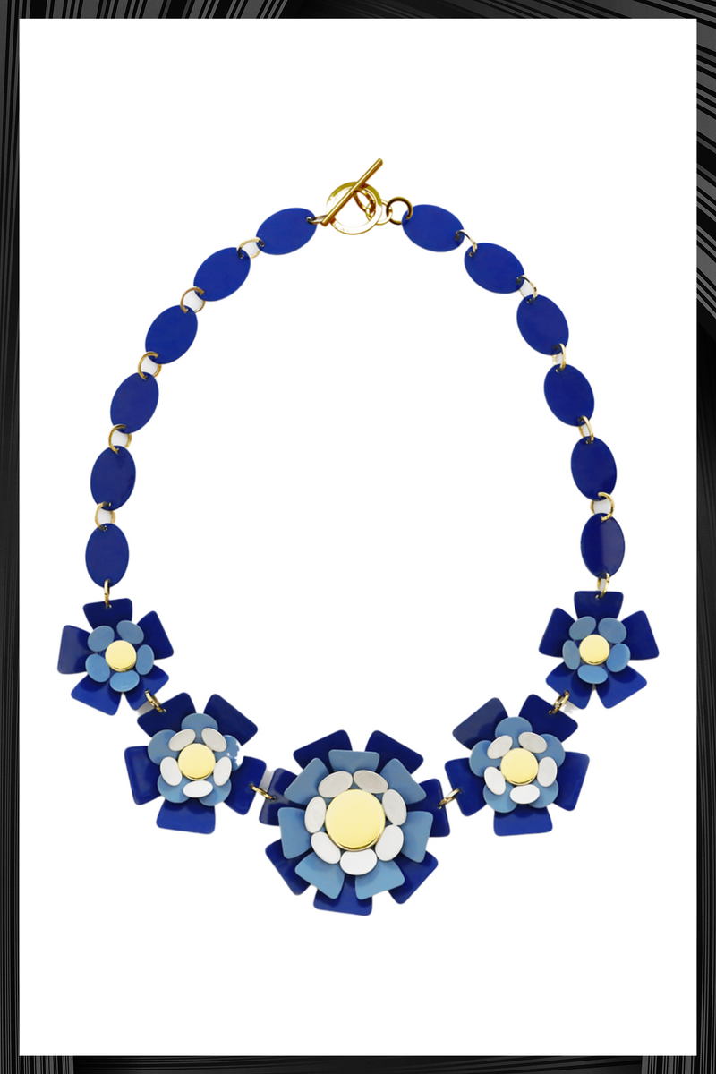 Blue Sineria Necklace | Free Delivery - 2-3 Weeks Shipping