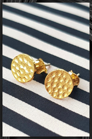 Circle Stud Earrings | Free Delivery - Quick Shipping