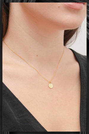 Diamond O Necklace | Free Delivery - Quick Shipping