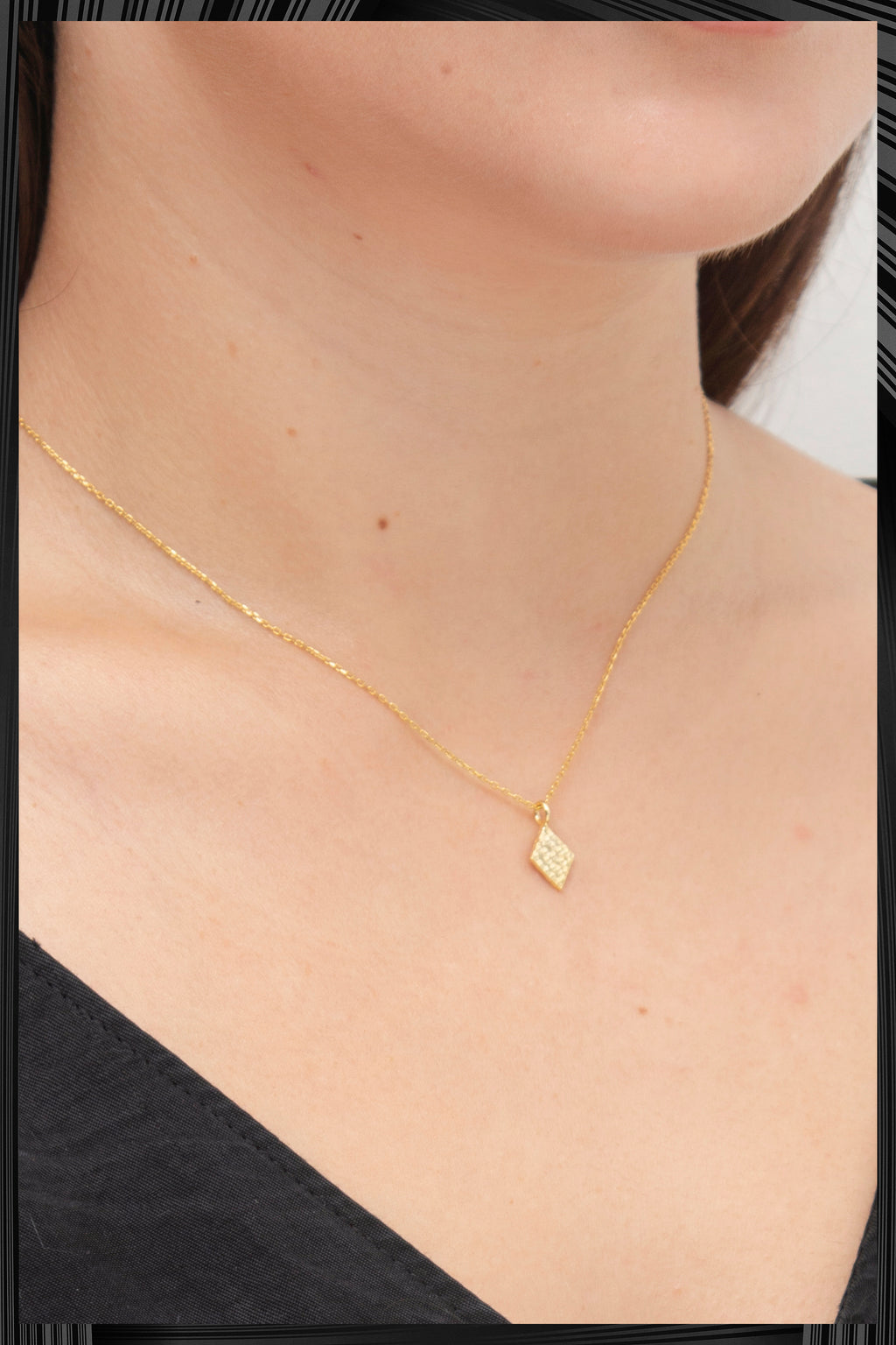 Gold Diamond Necklace | Free Delivery - Quick Shipping