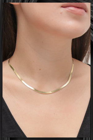 Gold Snake Necklace | Free Delivery - Quick Shipping