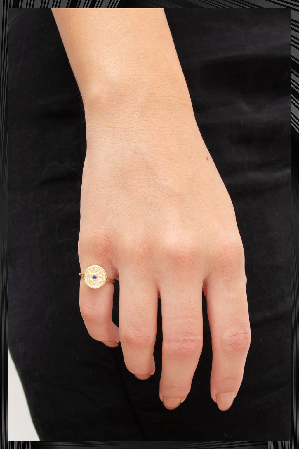Blue Evil Eye Ring | Free Delivery - Quick Shipping