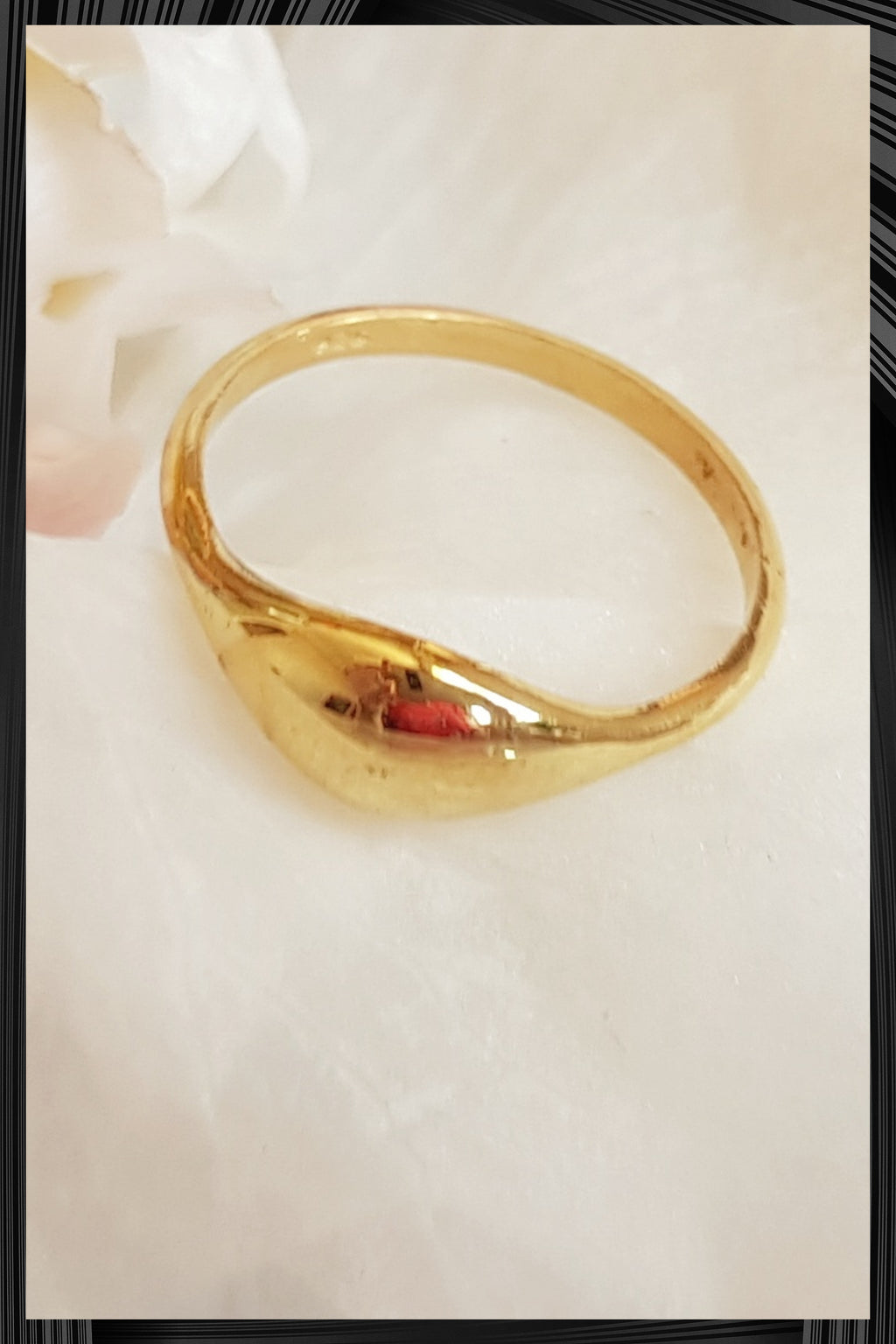 O Secret Gold Ring | Free Delivery - Quick Shipping